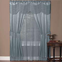 Halley Rod Pocket Window Curtain Set (Set of 5)