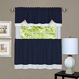 MyHome Darcy Window Curtain Tier Pair and Valance