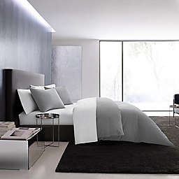 Vera Wang® Waffle Pique 3-Piece King Duvet Cover Set in Pewter