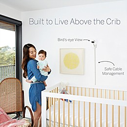 Nanit Plus™ Video Wall Mount Baby Monitor with Sleep Tracking