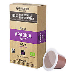 Gourmesso ECO Line Lungo Arabica Forte Espresso Capsules 50-Count