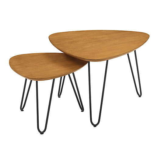 Alternate image 1 for Forest Gate™ 2-Piece Nesting Coffee Table Set