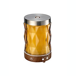 Serene House® Flare Glass Ultrasonic Aromatherapy Diffuser in Amber