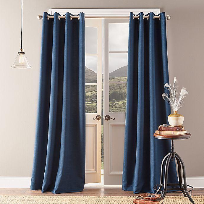 Alternate image 1 for Bedeck Landon Grommet Room Darkening Window Curtain Panel