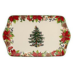 Spode® Christmas Tree 2020 Annual Dessert Tray in White