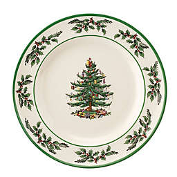 Spode® 10.5-Inch Christmas Tree 250th Anniversary Collector's Plate in White