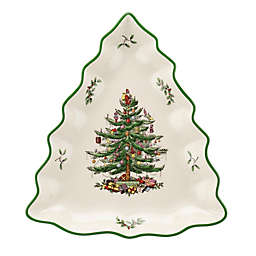 Spode® Christmas Tree Candy Dish in White