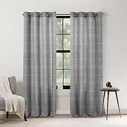 Mercantile Altura Plaid Light Filtering Grommet Window Panel (Single)