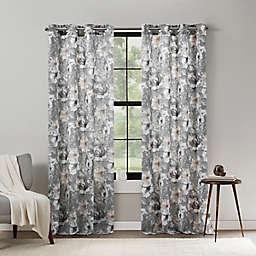 Mercantile Altura Floral Grommet Light Filtering Window Curtain Panel (Single)