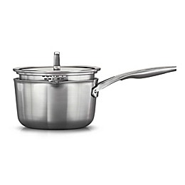 Calphalon® Premier™ Stainless Steel 3.5 qt. Covered Saucepan