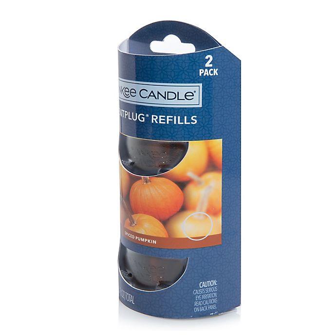 Alternate image 1 for Yankee Candle® ScentPlug® Spiced Pumpkin Refills (Set of 2)