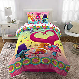 Trolls Love the Beat Comforter Set