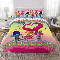 Trolls Love the Beat 5-Piece Full Comforter Set
