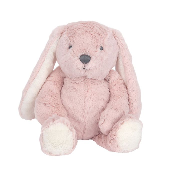 Alternate image 1 for Lambs & Ivy® Botanical Baby Hip Hop Plush Bunny Toy in Pink