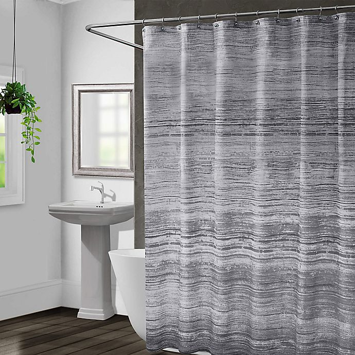 Alternate image 1 for NOMAD SHOWER CURTAIN 72X72