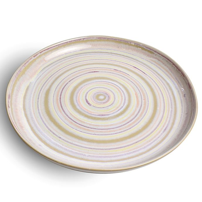 Alternate image 1 for Carmel Ceramica® Carousel Round Serving Platter