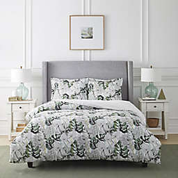 Pointehaven Printed 2-Piece Twin/Twin XL Duvet Cover Set