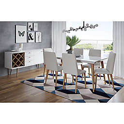 Manhattan Comfort Utopia 7-Piece Dining Set
