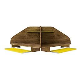 Manhattan Comfort© Bradley 2-Piece Cubicle Desk Set
