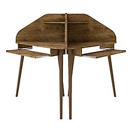 Manhattan Comfort© Bradley 2-Piece Cubicle Desk