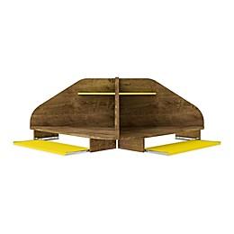 Manhattan Comfort© Bradley Floating Corner Desk