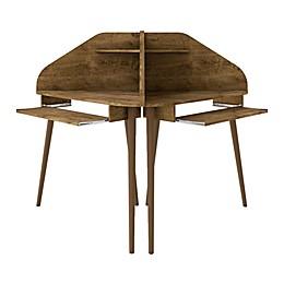 Manhattan Comfort© Bradley 4-Piece Round Cubicle Desk