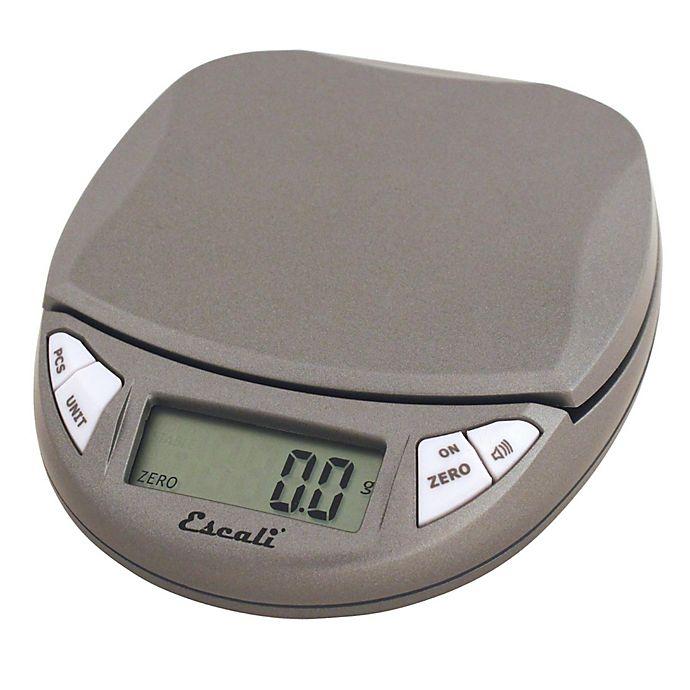 Alternate image 1 for Escali® Pico Hi Precision 500 Gram Food Scale