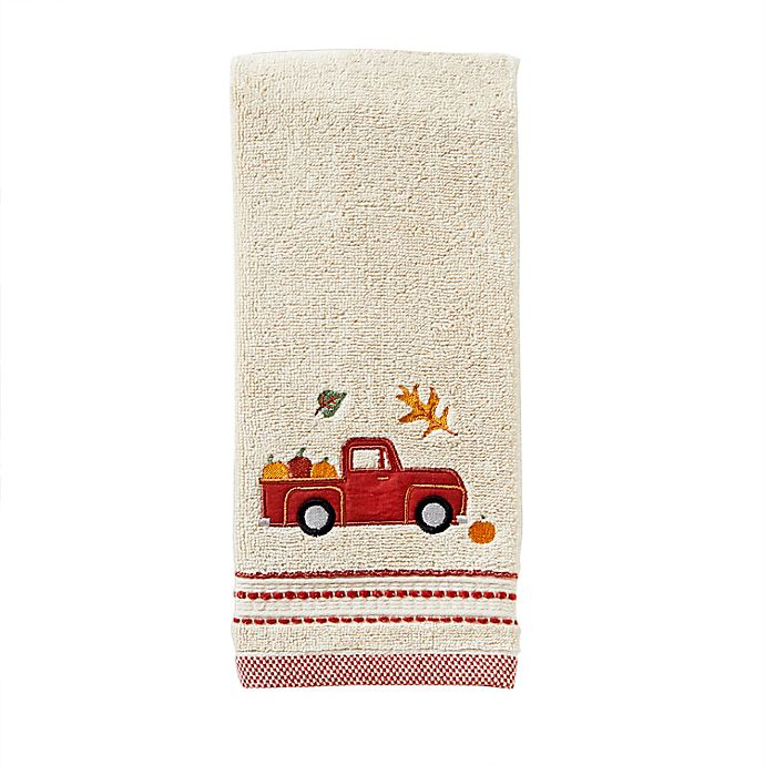 Alternate image 1 for Harvest Delivery Hand Towel in Natural