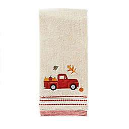 Harvest Delivery Hand Towel in Natural