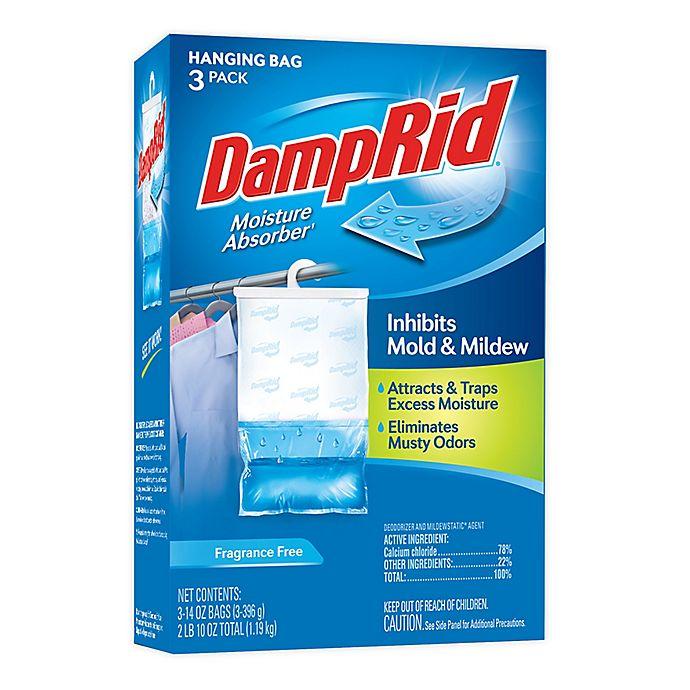 Alternate image 1 for DampRid® Fragrance Free 3-Pack Hanging Bags