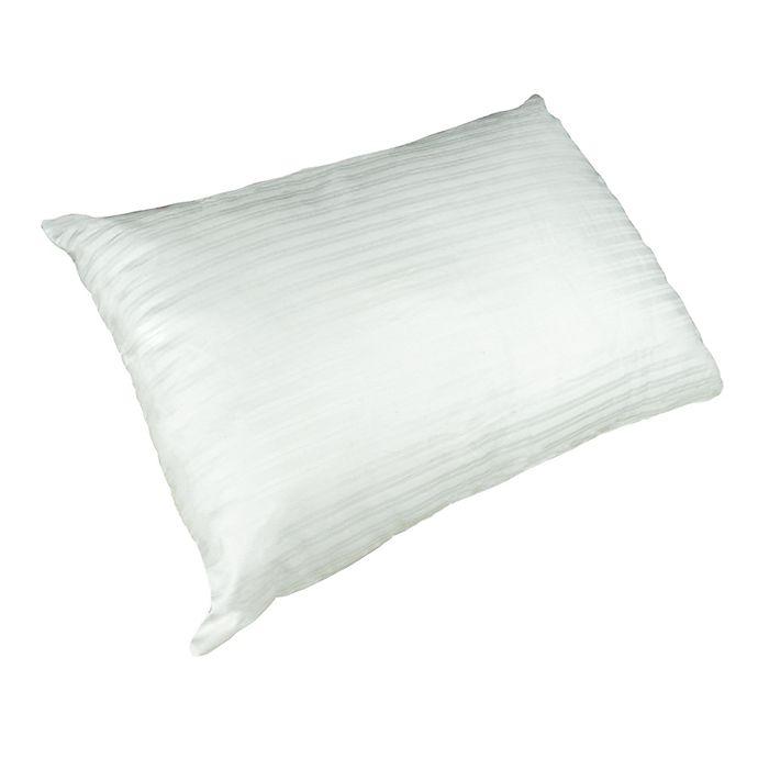 Alternate image 1 for Indulgence™ Cotton Down Alternative Travel Pillow