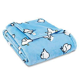 ED Here Boy Ultra Soft Plush Throw in Sky Blue
