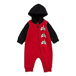 Jordan Jumpman Classics Full-Zip Coverall in Red/Black