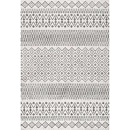 JONATHAN Y Ifrane Berber Geometric Stripe Area Rug
