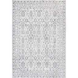 JONATHAN Y Lotus Modern Persian Floral Gray 3' x 5' Area Rug