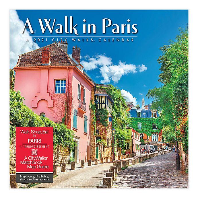 Alternate image 1 for 2021 A Walk in Paris Wall Calendar