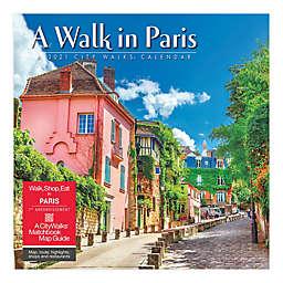2021 A Walk in Paris Wall Calendar