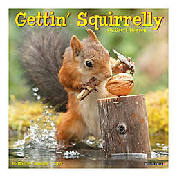 Gettin' Squirrelly 2021 18-Month Wall Calendar