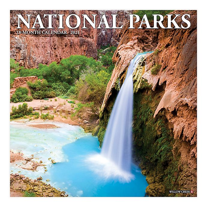 Alternate image 1 for 2021 National Parks Wall Calendar