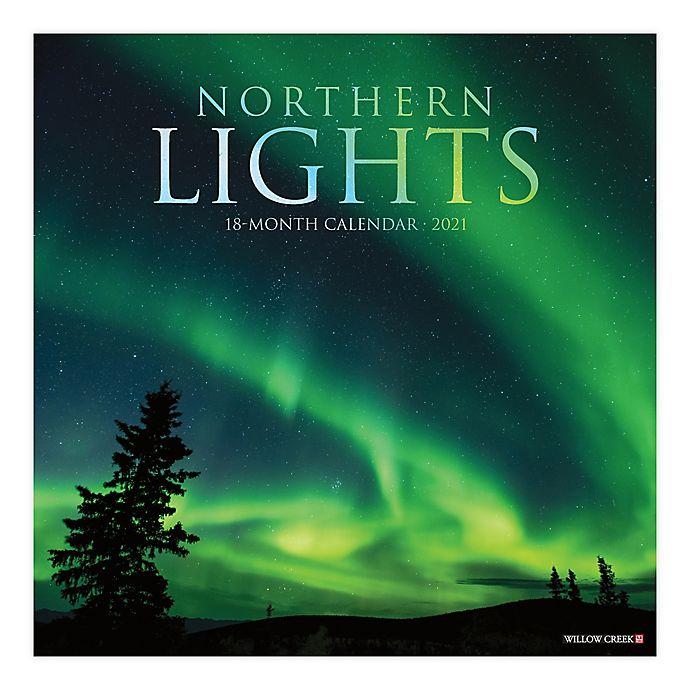 Alternate image 1 for Northern Lights 18-Month July 2020 to December 2021 Wall Calendar