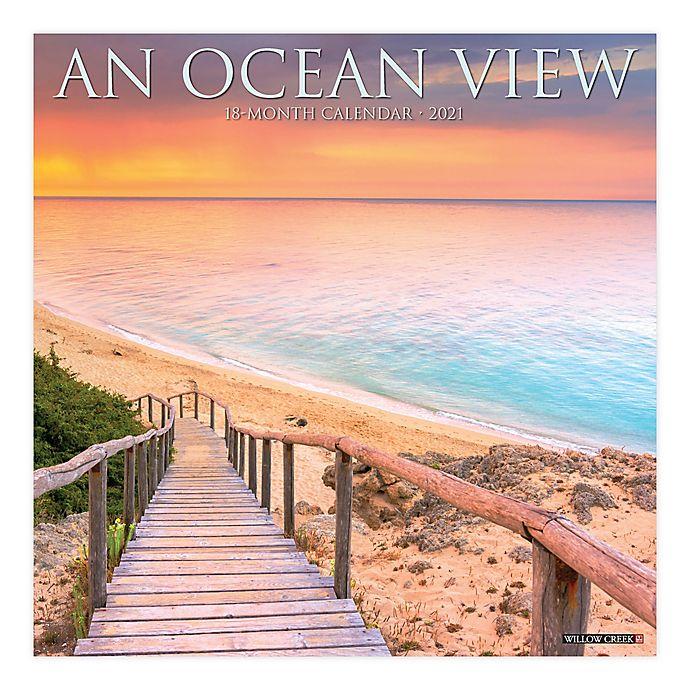 Alternate image 1 for 2021 Ocean View Wall Calendar