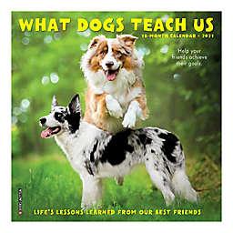 What Dogs Teach Us 2021 18-Month Mini Wall Calendar