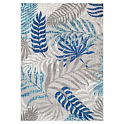 JONATHAN Y Tropics Palm Leaves Indoor/Outdoor Area Rug