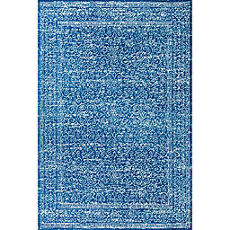 JONATHAN Y Azul Filigree  3' x 5' Area Rug in Blue and White Blue