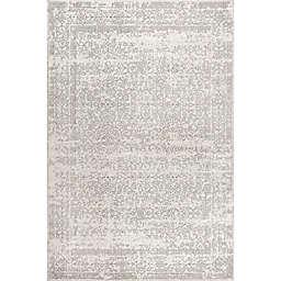 JONATHAN Y Ferro Filigree 4' x 6' Area Rug in Modern Gray Gray/Dark Gray
