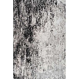 JONATHAN Y Storm Modern Abstract Gray/Cream Area Rug