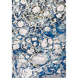 JONATHAN Y Pebble Marbled Abstract Area Rug