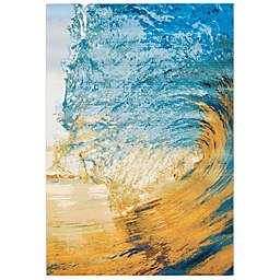 Safavieh Surf Indoor/Outdoor Area Rug in Blue