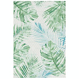 Safavieh Palm Indoor/Outdoor Area Rug in Green