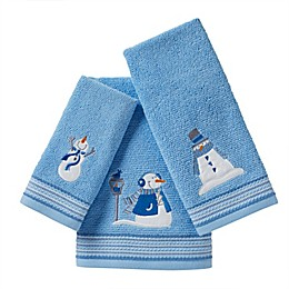 SKL Home Snow Buddies Bath Towel and Accessories Collection